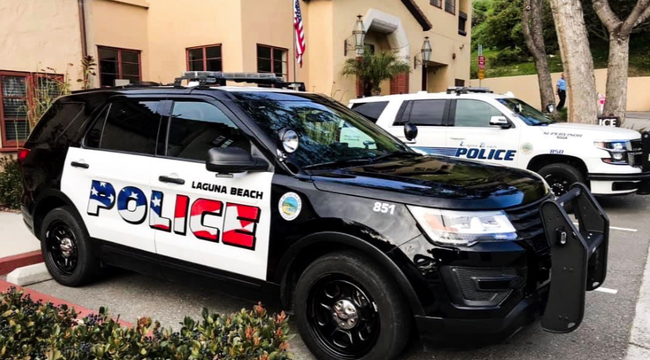 Laguna Beach Council Keeps Police Car Logo Design