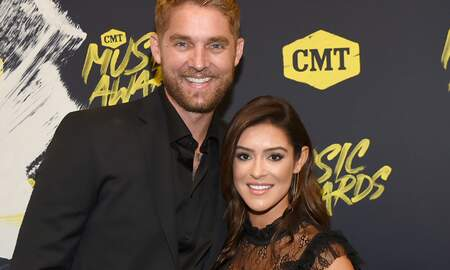 CMT Cody Alan - Brett Young Shows Off Baseball Skills During Gender Reveal