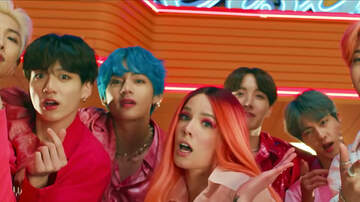 Cruz - BTS Reacts to Fans Watching Boy with Luv' Video for First Time