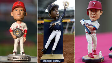 What We Talked About - These Baseball Stars Have Been Immortalized As Bobbleheads