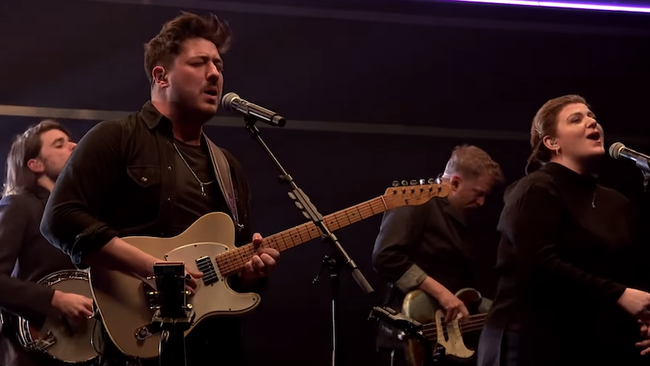 Mumford & Sons Perform 'Beloved' With Yebba And The Staves: Watch