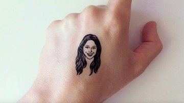 Lady La - You Can Now Get A Temporary Tattoo Of Your BFF's Face