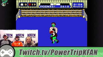 The Power Trip - TWITCH Highlight: Carly Zucker plays Punch-Out w/the Power Trip