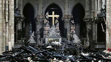 The Morning Rush - Macron Says Notre Dame Will Be Rebuilt Within 5 Years