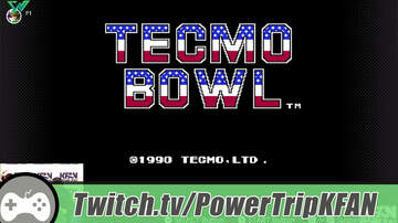 The Power Trip - TWITCH Highlight: The Power Trip plays Tecmo Bowl w/Mark Parrish on NES