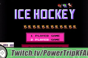 Highlight: The Power Trip plays Ice Hockey w/Mark Parrish on the Switch NES