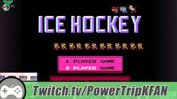 The Power Trip - Highlight: The Power Trip plays Ice Hockey w/Mark Parrish on the Switch NES