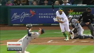 Rockin' Rick (Rick Rider) - Houston Astros pitcher nearly hit by a line drive!  (VIDEO)