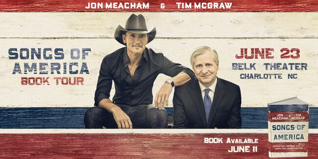 Songs of America Book Tour with Tim McGraw and Jon Meacham