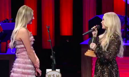 iHeartCountry - Carrie Underwood Helps Induct Kelsea Ballerini Into Grand Ole Opry