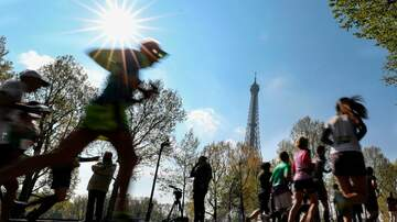 Traci James - Can you imagine running a marathon in high heels?