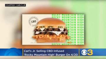 Dreena Gonzalez - Carl's Jr. To Test CBD-Infused Burger This Weekend!
