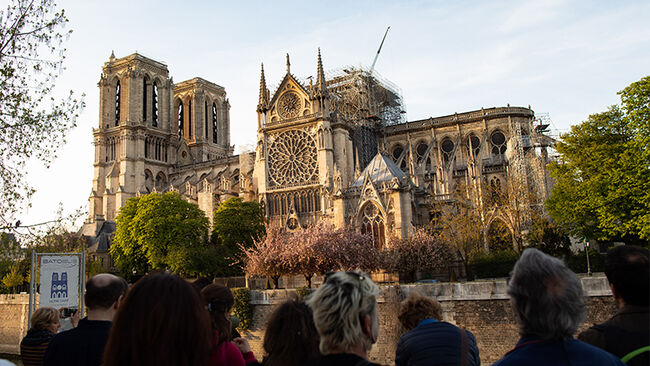After the devastating fire at Notre-Dame Cathedral