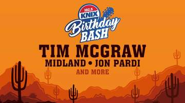 KNIX Birthday Bash Blog - The First Ever KNIX Birthday Bash Lineup Is Here & It's Amazing!