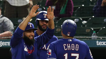 Sports Desk - Rangers Nip Angels With Four-Run Fifth