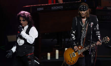 Rock News - Hollywood Vampires Releases New Single Who's Laughing Now