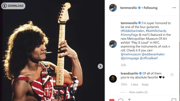 Whip - TOM MORELLO AMONG FEATURED GUITARISTS AT MOMA EXHIBIT