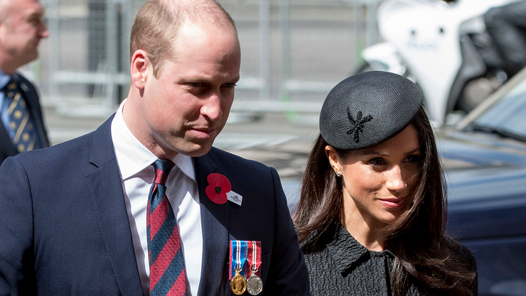 Prince William Gave A Major Clue About Meghan Markle's Due Date