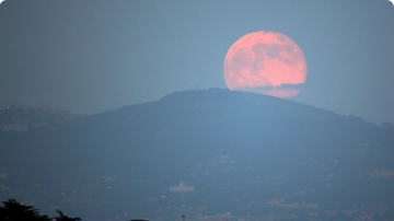 BC - Why Friday's 'Pink Moon' Might Actually Be A Different Color