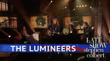 Frank Bell - Lumineers Perform Gloria on Late Night with Stephan Colbert
