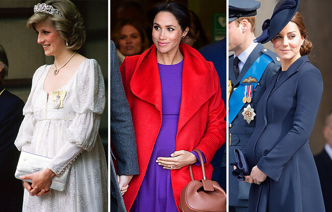 The Royal Family's Best Maternity Looks