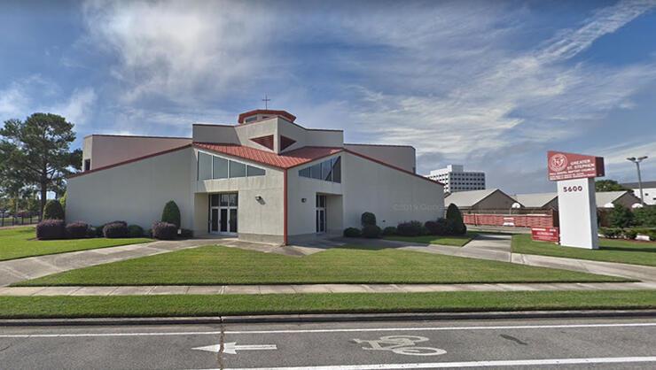 Greater St. Stephen Full Gospel Baptist Church in New Orleans, Louisiana