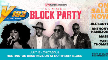 None - V103 Summer Block Party Featuring Jill Scott