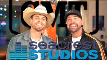 Headlines - Dustin Lynch & Cody Alan & Film CMT Hot 20 Episode At Seacrest Studios