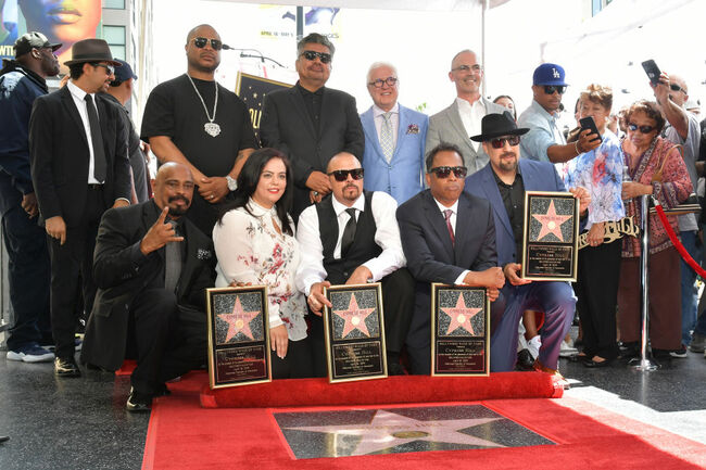 Cypress Hill Honored With Star On The Hollywood Walk Of Fame