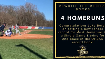Lance McAlister - Podcast: Luke Borer (Perrysburg H.S.) on his home run cycle