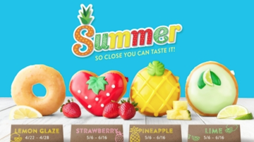Bobby Bones - Food World: Krispy Kreme Is Releasing Fruit Flavored Donuts For Summer