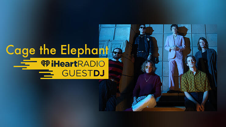 Cage The Elephant Guest DJ