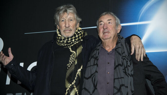 Roger Waters Reunites With Pink Floyd's Nick Mason At NYC Concert