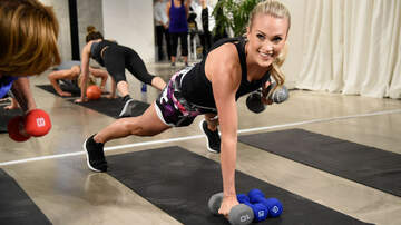Music News - Carrie Underwood Says Cute Workout Clothes Give Her A 'Little Boost'