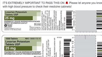 Steve - More Blood Pressure Medicine Recalled