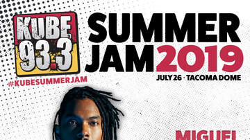 KUBE 93.3 Summer Jam - Miguel Sky Walkin' this Year at KUBE Summer Jam