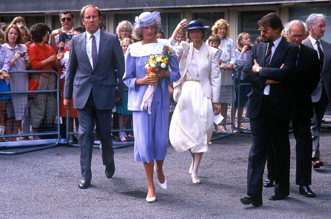 Diana, Princess of Wales,Opening Research Unit, King's College