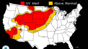 Local News - From windchill warnings to sunburn alert IOWA NEBRASKA UV MAP