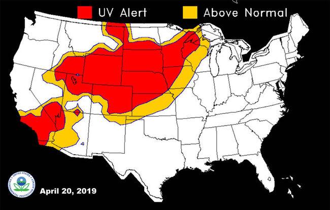 UV Map - Environmental Protection Agency