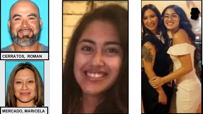 Vehicle Sought in Connection With Amber Alert Found Near Mexico Border