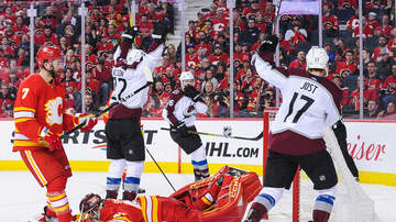 Mike Rice - Avs Oust Flames, 5-1, Move On To Western Conference Semifinals