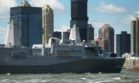 National News - Hidden Camera Discovered in Woman's Bathroom Aboard Navy Ship