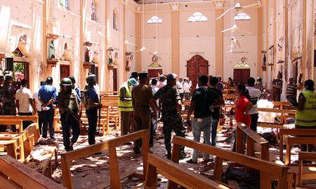 National News - Coordinated Easter Bombings Leave Hundreds Dead In Sri Lanka