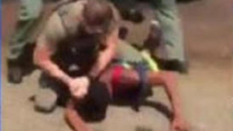 Florida Cop Captured On Video Slamming Teen's Head Into The Ground