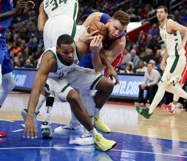 Milwaukee Bucks v Detroit Pistons - Game Three