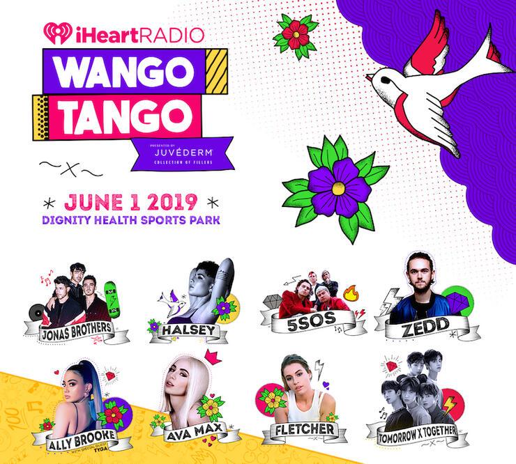 2019 iHeartRadio Wango Tango: Jonas Brothers, Halsey & More to