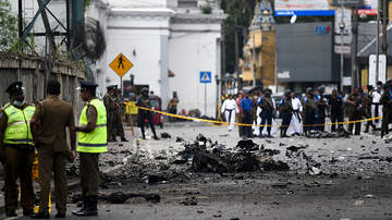 National News - Van Explodes Near Church In Sri Lanka As Bomb Squad Tried To Defuse It