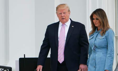 Politics - President Trump Sues to Block Subpoena Seeking Information About Finances