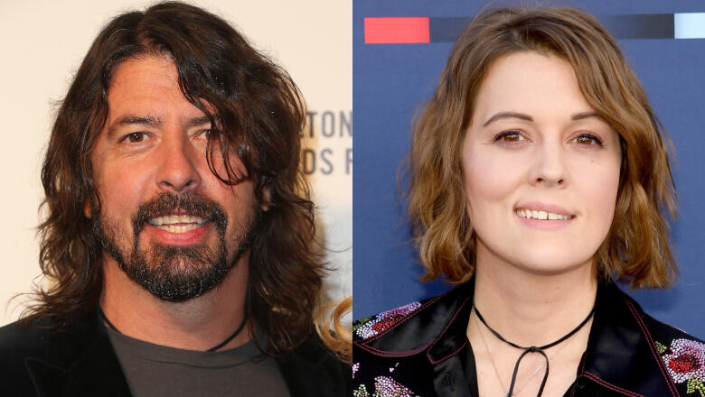 Dave Grohl & Brandi Carlile Surprise Fans With A Street Performance