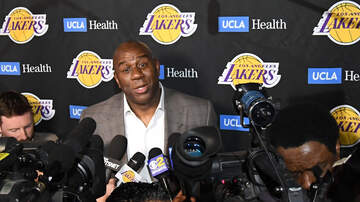 Sports News - Magic Johnson Says He ls Working Internally For The Lakers